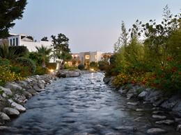 La rivière de l'hôtel