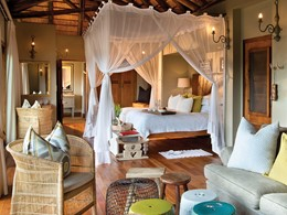La suite du Narina Lodge du Lion Sands Game Reserve