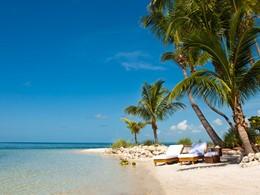 La superbe plage du Little Palm Island, aux Etats Unis