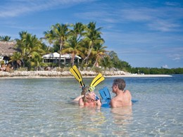 Snorkeling au Little Palm Island Resort, en Floride