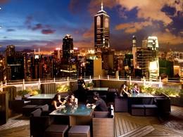 Le toit de l'hôtel LKF by Rhombus situé en Chine