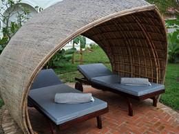 Détente à l'ombre à l'hôtel Luang Say Residence au Laos