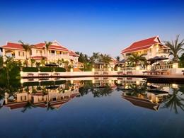 La piscine du Luang Say Residence au Laos