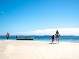 Profitez de la belle plage en famille