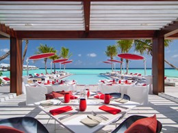 Le restaurant Beach Rouge