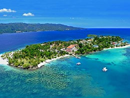 Vue aérienne du Luxury Bahia Principe Cayo Levantado