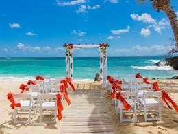 Mariage dans un cadre unique à l'hôtel Luxury Bahia Principe
