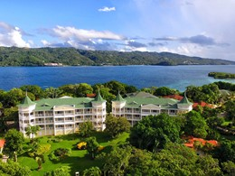 Vue de l'hôtel Luxury Bahia Principe Cayo Levantado