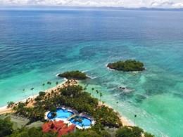 Vue aérienne sur le Luxury Bahia Principe Cayo Levantado