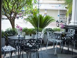 Autre vue du restaurant de la Maison d'Hanoi Hanova Hotel au Vietnam