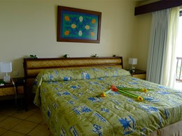 Chambre Jardin de l'hôtel Maitai Polynesia
