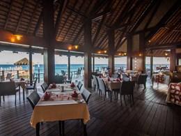 Le restaurant Blue Lagoon
