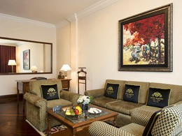 Colonial Suite de l'hôtel Majestic Saigon au Vietnam