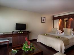 A/C Garden View Room du Manava Beach Resort Moorea