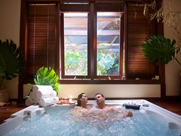 Instant de bien-être au spa de l'hôtel 4 étoiles Manava