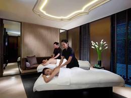 Le spa de l'hôtel 5 étoiles Mandarin Oriental à Singapour