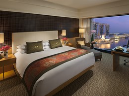 Marina Bay View Room du Mandarin Oriental à Singapour