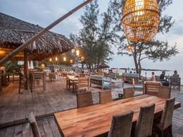 Le Beach Bar de l'hôtel Mango Bay au Vietnam