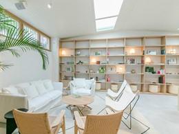 Le lounge du Margot House, une adresse discrète situé au coeur de Barcelone