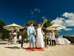 Mariage au Maritim Resort situé dans La Baie aux Tortues