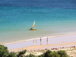 La plage du Martinhal Sagres Beach Family Resort