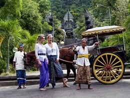 Visite du temple de Dokar à Bali