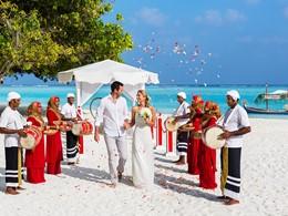 Mariage au Meeru Island Resort