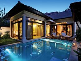Family Pool Villa du Melati Beach Resort en Thailande