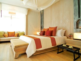 Pool Villa du Melati Beach Resort & Spa en Thailande