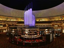 Le bar Centrifuge de l'hôtel MGM Grand, aux Etats-Unis