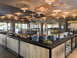 Le restaurant Amalthea de l'hôtel Minos Palace