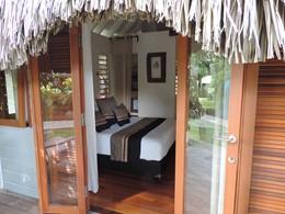 Bungalow Jardin du Moorea Beach Lodge en Polynésie