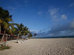 La plage bordant l'hôtel