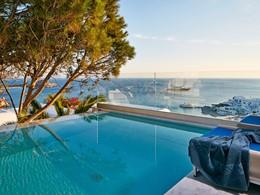 Splendide vue sur la mer Egée