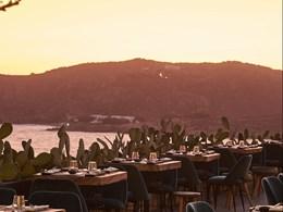 Vue imprenable sur la baie depuis le Sishu Sushi Bar