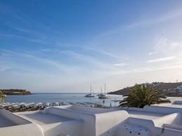 Profitez d'un panorama imprenable depuis le Mykonos Ammos