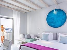 Chambre Supérieure Vue Mer du Mykonos Ammos