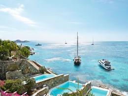 Superbe vue sur la mer Egée
