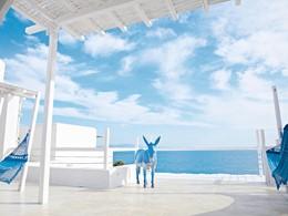 La terrasse du Grecotel Mykonos Blu