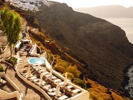 Vue magnifique sur la falaise
