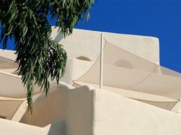 Détail de l'architecture de l'hôtel