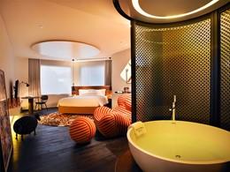 Eden & Nirwana Room de l'hôtel Naumi en plein centre de Singapour