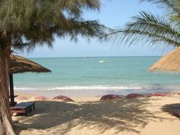Autre vue de la plage Neptune au Senegal