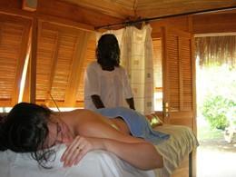 Le spa de l'hôtel Neptune situé au Senegal