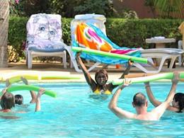 Aquagym à l'hôtel Neptune en Afrique