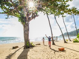 La plage de Chaweng Noi Beach du New Star Beach Resort