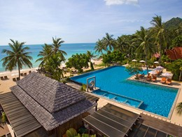 La piscine de l'hôtel New Star Beach Resort en Thailande