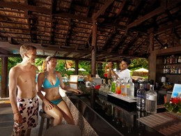 Le bar de l'hôtel New Star Beach Resort en Thailande