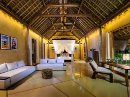 Kasambi Villa de l'hôtel Nihi Sumba en Indonésie