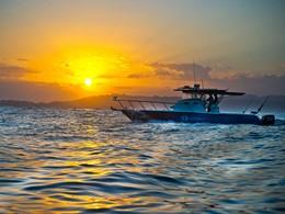 Balade en mer à l'hôtel Nihi Sumba en Indonésie